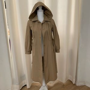 London Fog Trench Coat Size 6P